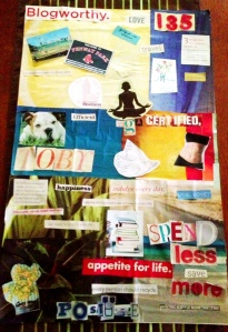 My Vision Board from 4+ years ago