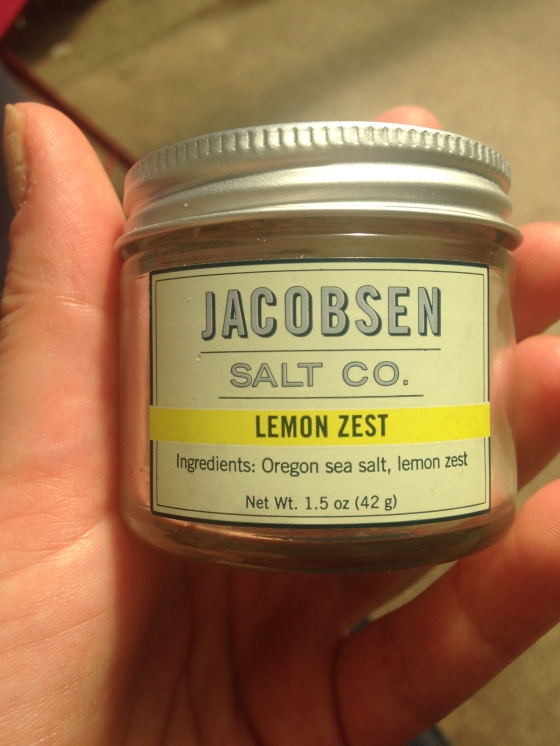 Jacobsen Salt Lemon Zest