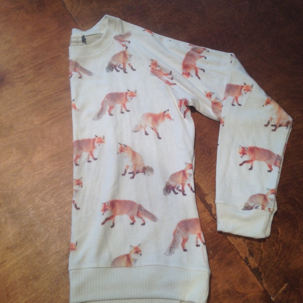 Fox Sweater from All Things Fabulous