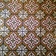 the tile at the colony palms