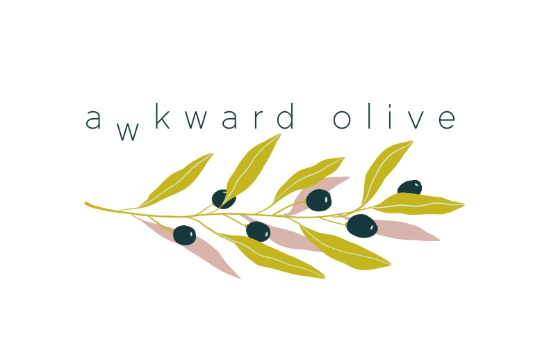 Awkward Olive Logo Design FINAL
